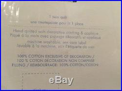 1 POTTERY BARN KIDS Colton Astronaut Twin Quilt NEW Space Stars