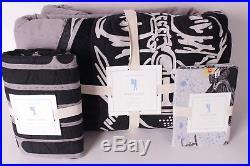 3pc Pottery Barn Kids Star Wars Darth Vader twin quilt, euro sham & pillowcase