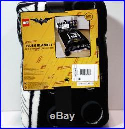 5 / 6 pc- Lego BATMAN Movie Reversible Comforter + Sheet + Blanket + Batman TWIN