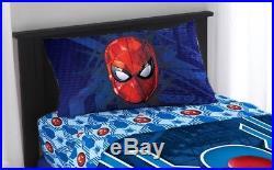 6-pcs Marvel SPIDERMAN Full-Double COMFORTER +SHEETS SET Bed in a Bag BONUS SHAM