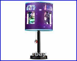 7 pc Disney Star Wars Rebel Twin Quilt, Sham, Sheet, Pillow, Lamp Set NIP