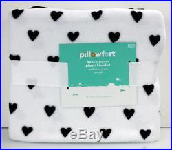 7 pcs Pillowfort METALLIC HEART Comforter + SHEETS + BLANKET + PILLOW TWIN