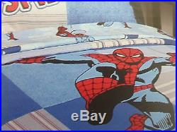 8 pc Marvel Comics The Amazing Spider-man Collection Twin Quilt Bedding Set NIP