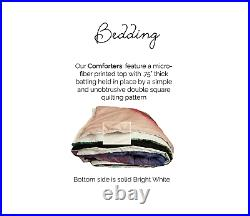 ATV Bedding, Dirt Bike Comforter Set, 4 Wheeler, Motorcycle, Teen boys, Racing