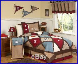 All Star Sports Kids Twin Size Bedding Comforter Set for Boy Sweet Jojo Designs