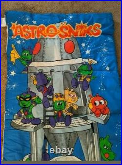 Astrosniks Sleeping Bag Astro Sniks 80's Rare Vintage 1983
