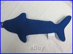BOAT HOUSE Kids Sharks Aqua Blue Gray 6pc Quilt Sheets Pillow Set Twin