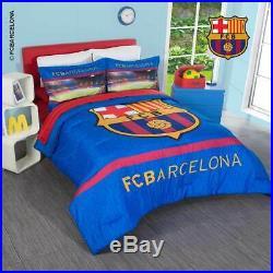 Barcelona Team Boys Sports Comforter Set