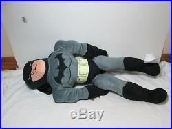 Batman Twin Comforter, Plush Blanket, Batman Figurine Pillow, Twin Sheet Set NEW