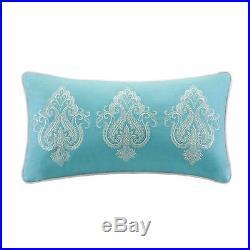 Beautiful Modern Tropical Beach Ocean Teal Aqua Blue Grey Exotic Comforter Set