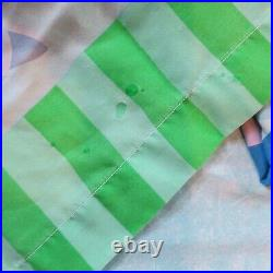 Blues Clues Twin Sheet Set Flat & Fitted Sheets Three Pillowcases Periwinkle Vtg