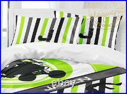 Boys Dirt Bike Comforter, ATV Bedding, Dirt bike Pillowsham, 4-Wheeler