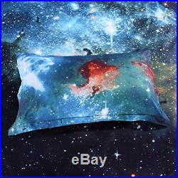 Cliab Galaxy Bedding for Kids Boys Girls Twin Size Outer Space Duvet Cover Set