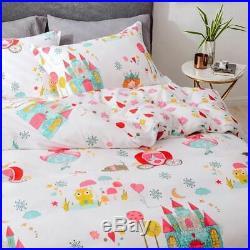 Cotton Bedding Set Car Boys Teens flat sheet pillowcase Blanket Cover Sets
