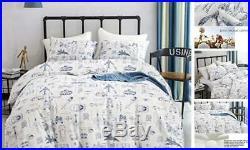 Cottonight Boys Comforter Set Twin, Soft Bedding Inner Fill, Kids Twin Aircraft