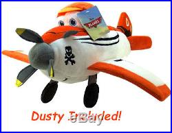 DISNEY PLANES Boys 5 pieces Twin/Single Size BLUE COMFORTER+SHEET SET+DUSTY PAL
