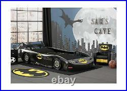 Delta Children DC Comics Car Twin Bed Batman Batmobile BB87167BT Furniture New