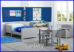 Delta Children MySize Toddler Bed Grey