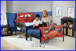 Delta Children Plastic 3D-Footboard Twin Bed Disney/Pixar Cars
