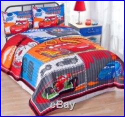 Disney Cars 2 Twin XL Quilt bedding 2 Shams are included very rare hard to find
