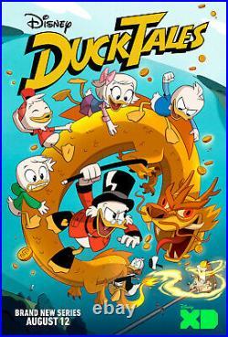 Disney Ducktales Huey, Dewey, Louie Twin/Full Quilt Set