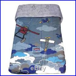 Disney Mickey Planes Crazy Twin Bedding Comforter Quilt Bedspread Blanket Bed