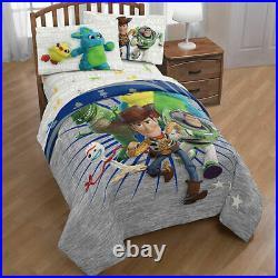 Disney Toy Story Woody & Friends Boys Kids Twin Comforter & Sheets (6 Piece)