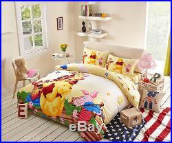 Disney Winnie the Pooh 7pcs Comforter Set in a Bag Twin Full Queen Bedding Set