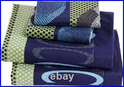 Elegant Home Blue Green Soccer Design 8 Piece Comforter Bedding Set for Boys/Kid