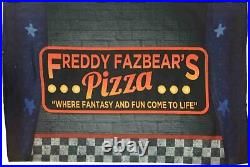 Five Nights At Freddy's FazBear's Pizza Security Twin Comforter Set