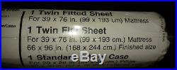 GI JOE VINTAGE Twin 1985 Bedding Collectible sheets BRAND NEW SEALED RARE