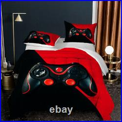 Gamer Comforter Set Video Game Comforter Set for Kids Boys Teens Twin Full Queen