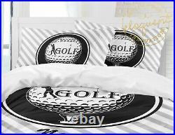 Golf Comforter, Golfing Bedding Set, for Kids, Girls or Boys, Golf Gifts