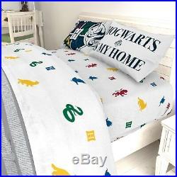 Harry Potter Boys Reversible Twin Comforter, Sheet Set, & BONUS Sham (5 Piece)