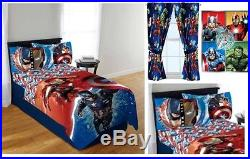 Kids Girls Boys Avengers Bed In A Bag / Comforter Set- 2 Prints
