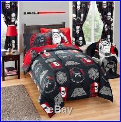 Kids Girls Boys Star Wars Episode 7 Bed In A Bag / Comforter Set- 2 Prints