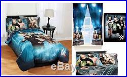 Kids Girls Boys Wwe Bed In A Bag / Comforter Set- 2 Prints
