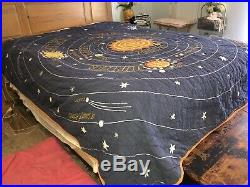 Land of Nod Solar System Full Size Quilt Comforter 90 X 84 Make Offer