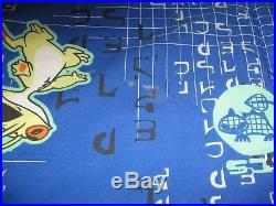 Lilo & Stitch Twin Size Comforter Bedding RARE Disney Rare Vintage Blue Mod