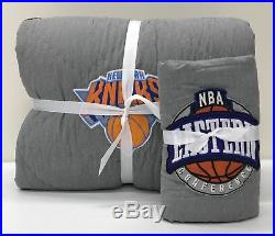 NEW Pottery Barn TEEN Basketball NBA Patch TWIN XLTWIN Quilt and ShamEASTERN