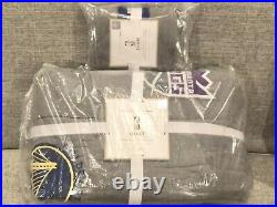 NEW Pottery Barn Teen NBA Basketball Twin Quilt & Sham, Western Conference
