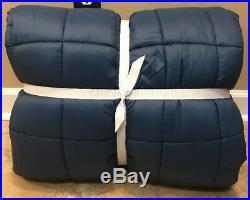 NEW Pottery Barn Teen Polar Puff TWIN Comforter NAVY BLUE