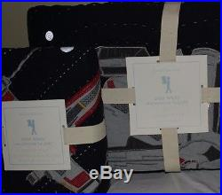 NWT Pottery Barn Kids Star Wars Millennium Falcon twin quilt & standard sham