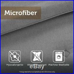 New! Cozy Sporty Soft Blue Grey Green White Navy Stripe Boys Comforter Set
