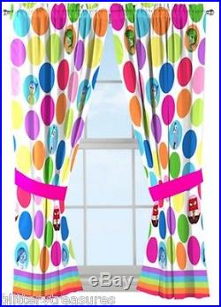 New Kids Girls Boys Disney Inside Out Bed In A Bag / Comforter Set In 3 Print