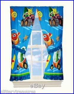 New Kids Veggie Tales Bedding Bed In A Bag / Comforter Set