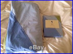New Pottery Barn Kids Bryce Twin Duvet Cover And Sham BOY