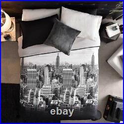 New York City Teens Girls/boys Reversible Light Comforter Set 2 Pcs Twin Size