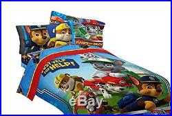 Nick Jr Paw Patrol Twin Sized Comforter Quilt Bedspread Bedding Cover Blanket