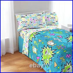 Nickelodeon's Rugrats Ren and Stimpy Catdog Twin/Full REVERSIBLE Comforter